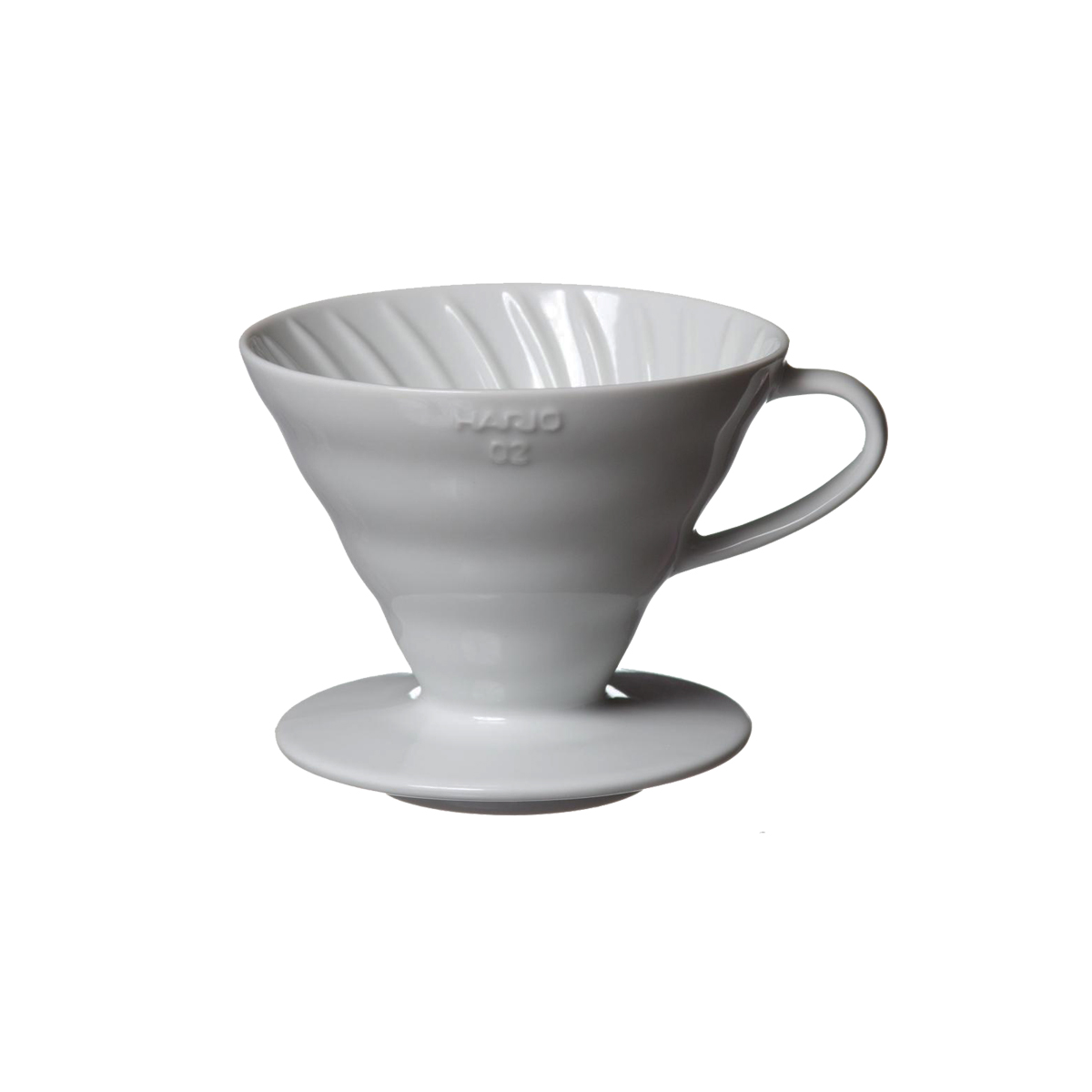 Hario V60 Ceramic Coffee Dripper White 02 VDC-02W