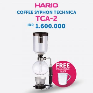 Hario Coffee Syphon Technica 2 Cup TCA-2