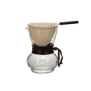 Hario Woodneck Drip Pot 1 Cup DPW-1