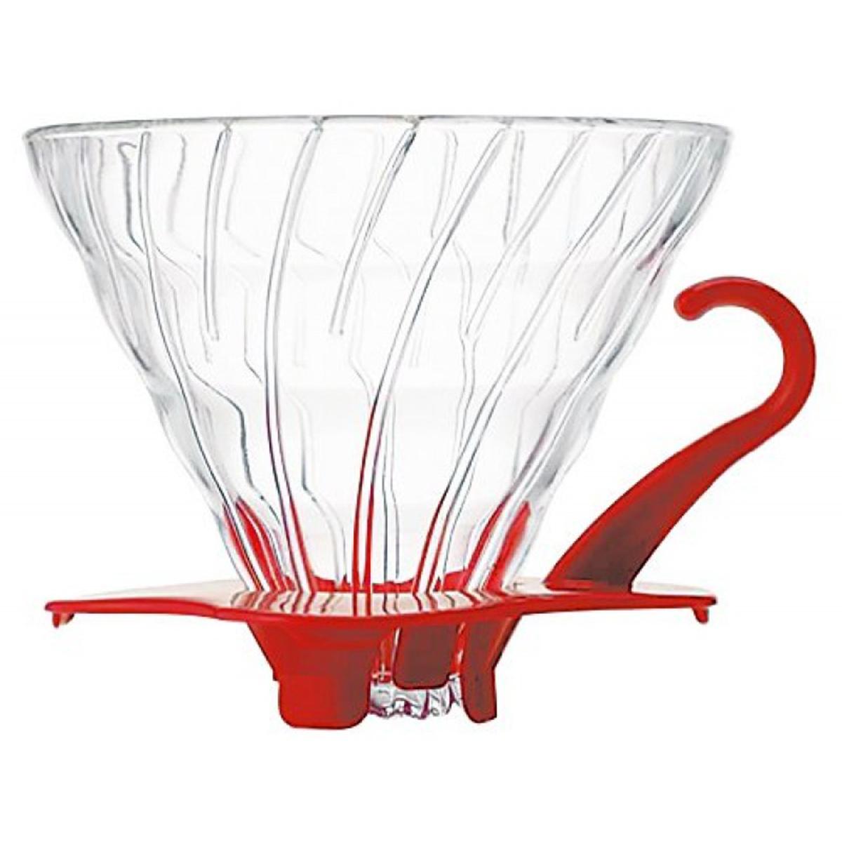 Glass-Coffee-Dripper-V60-Red