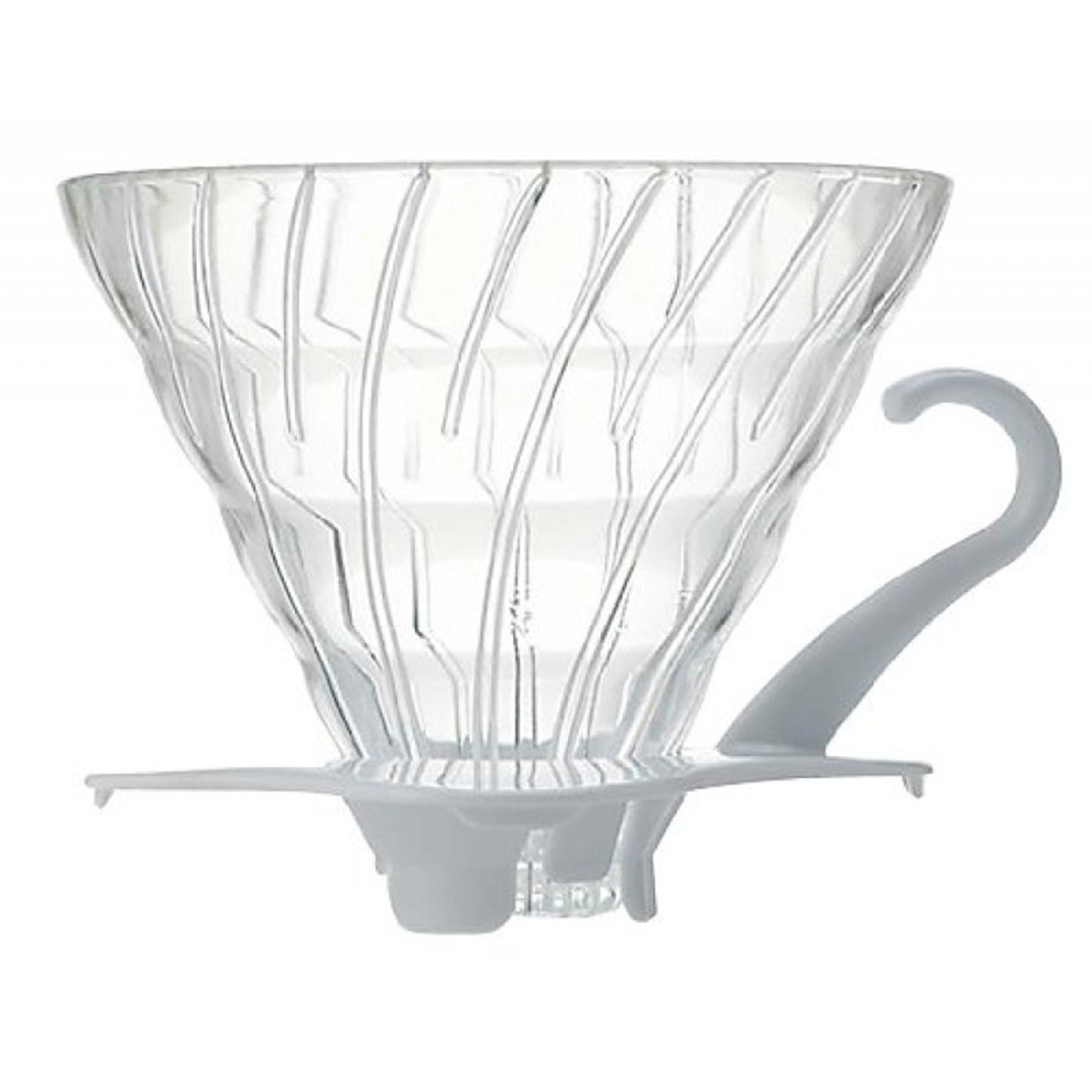 Hario V60 Glass Coffee Dripper 01 - White VDG-01W