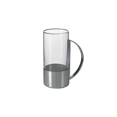 Hario Hot Glass Circle Silver HW-8CSV