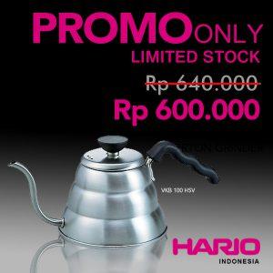 Hario V60 Kettle Buono Small VKB-100HSV