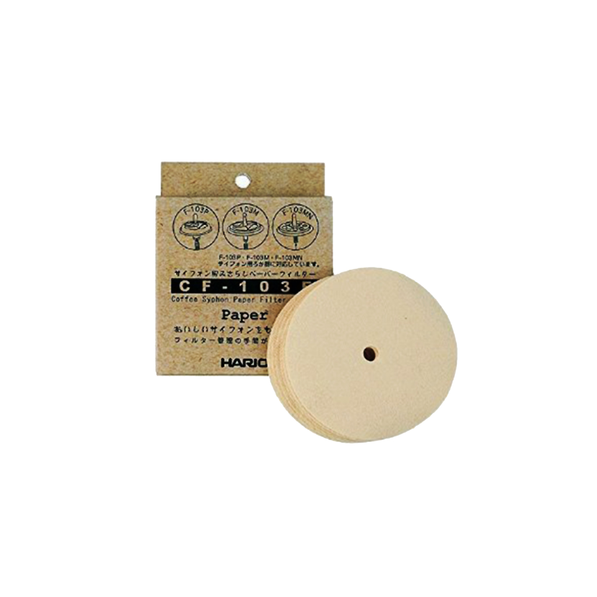 Hario Syphon Paper Filter 100 Pack CF-103E