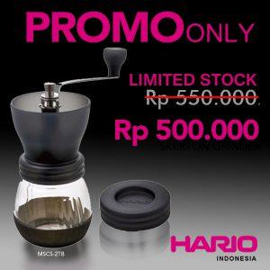 Hario Ceramic Coffee Mill Skerton MSCS-2TB