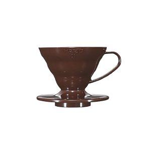 Hario V60 Plastic Coffee Dripper Brown 01 VD-01CBR