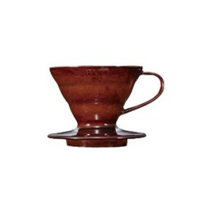 Hario V60 Ceramic Coffee Dripper Brown 01 VDC-01CBR