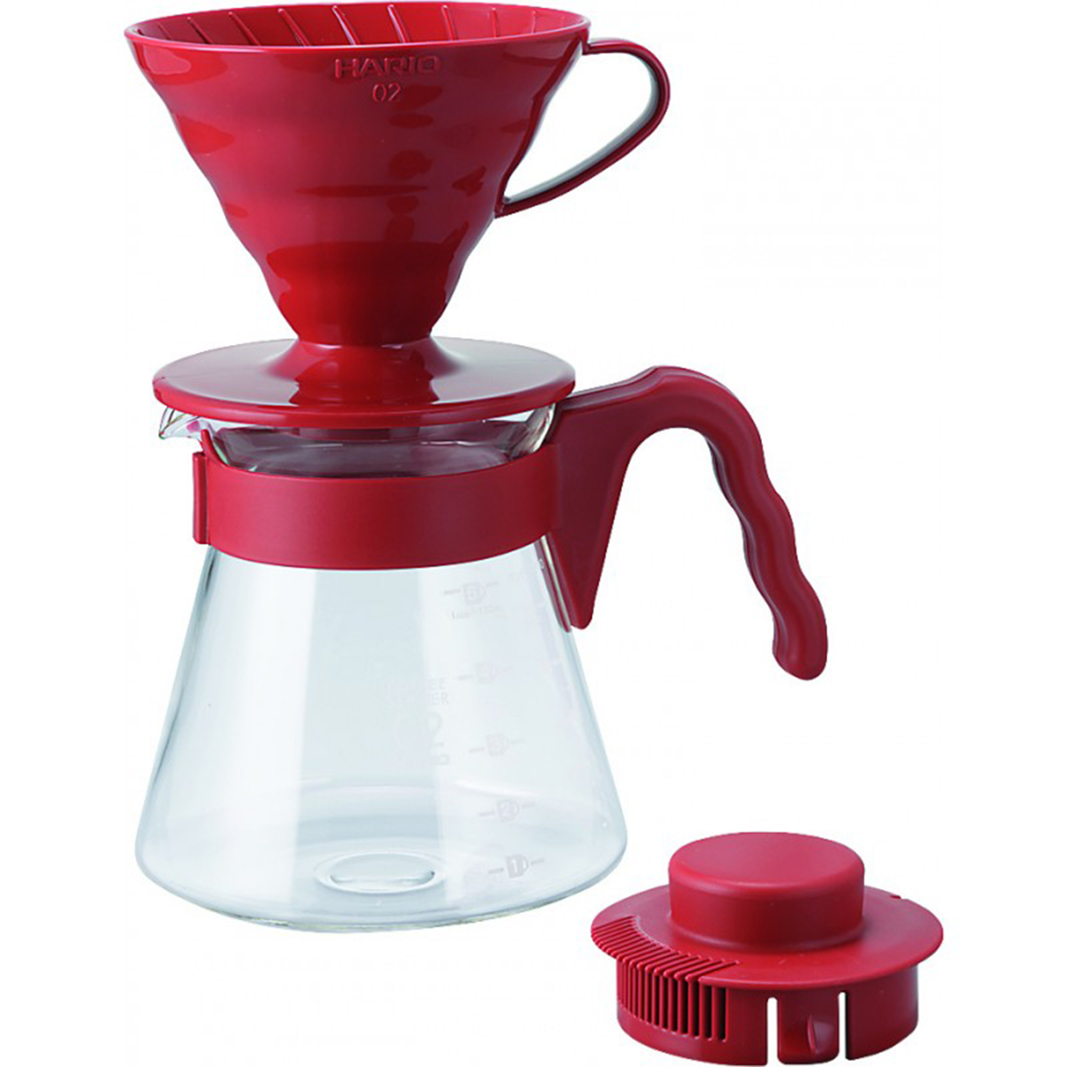 V60-Colour-Dripper-Pot-Red