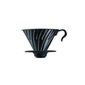 Hario V60 Metal Coffee Dripper Black 02 VDM-02BC