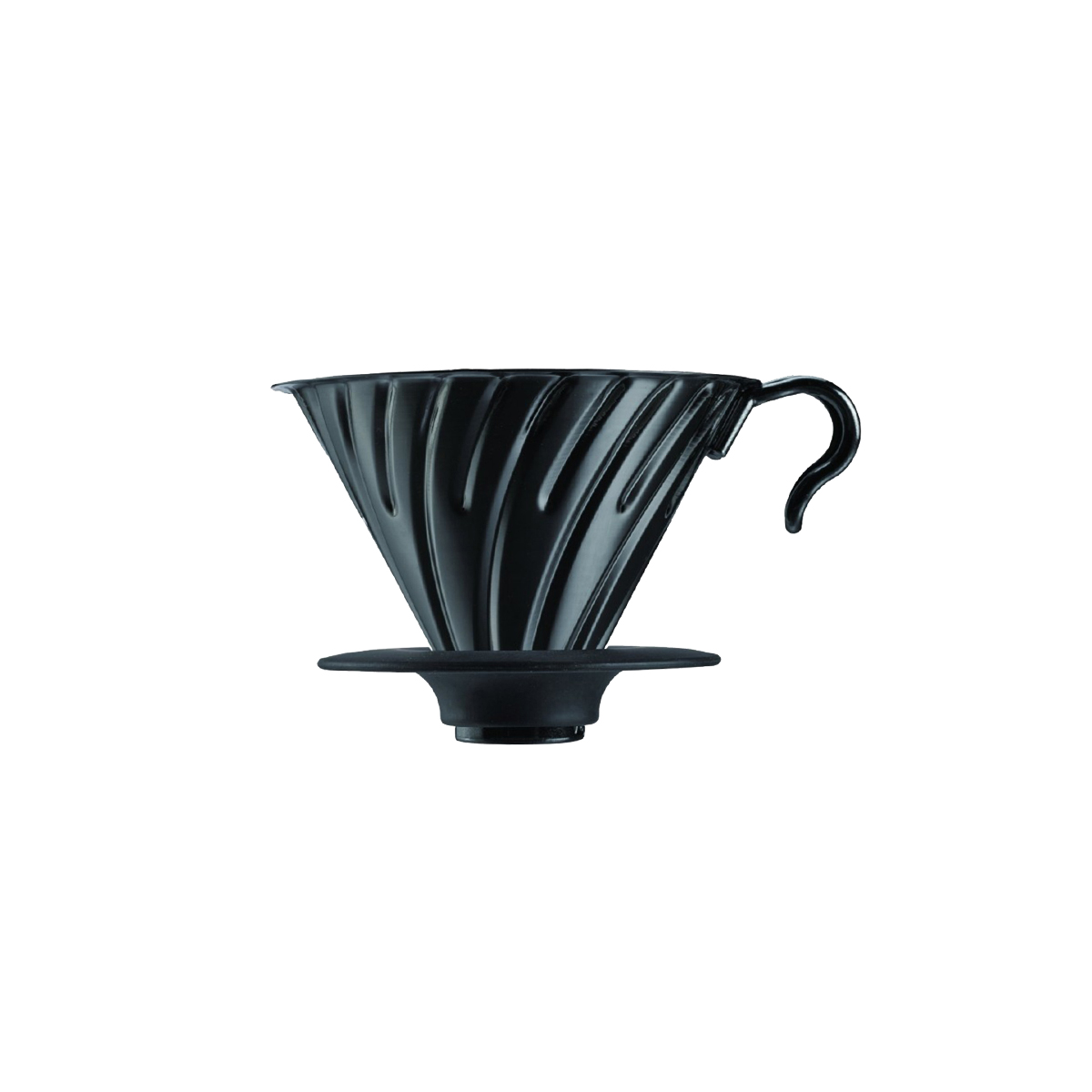Hario V60 Metal Coffee Dripper Black 02 VDM-02BC