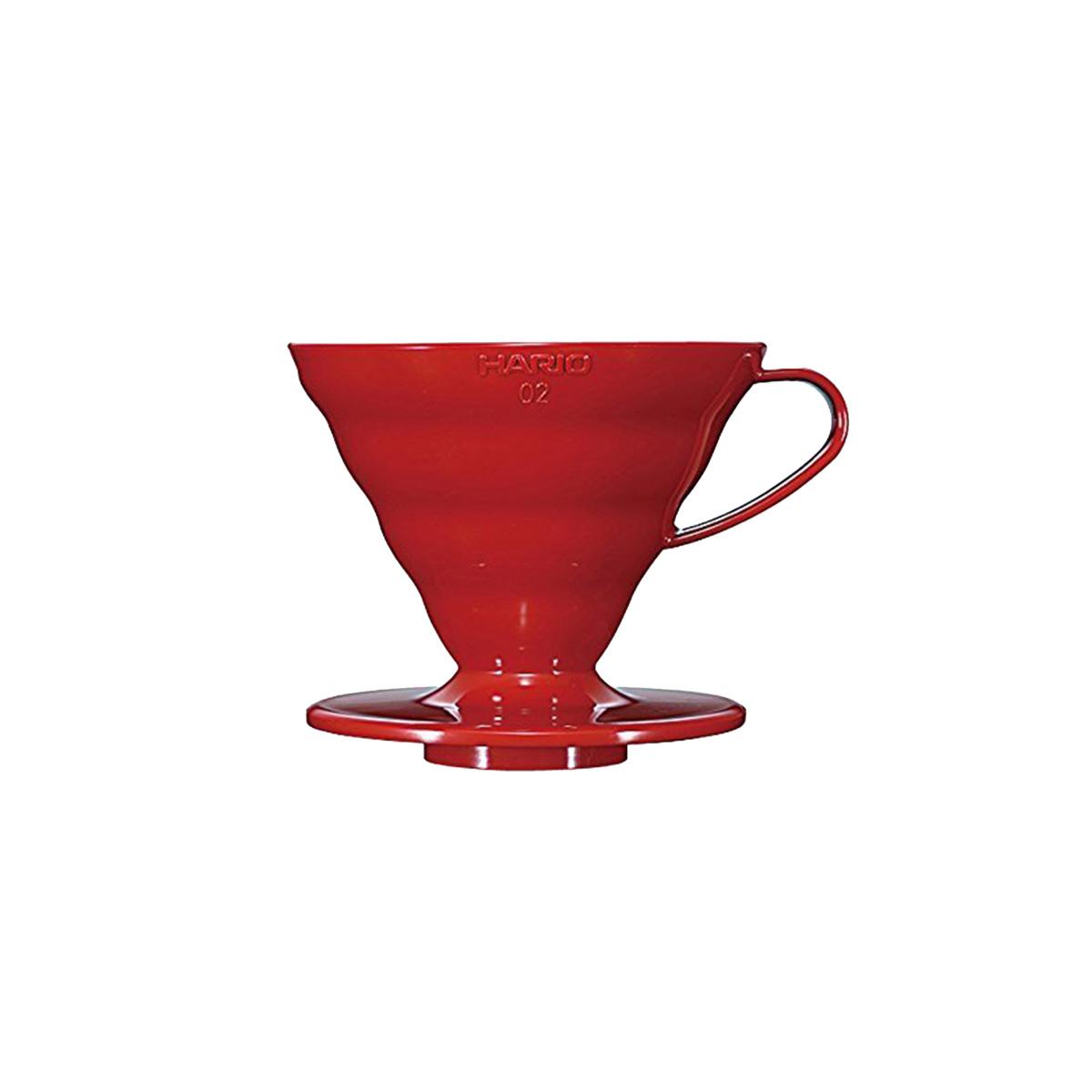 Hario V60 Plastic Coffee Dripper 02 Red VD-02R