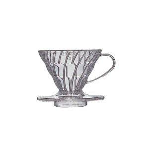 Hario V60 Plastic Coffee Dripper Clear 01 VD-01T
