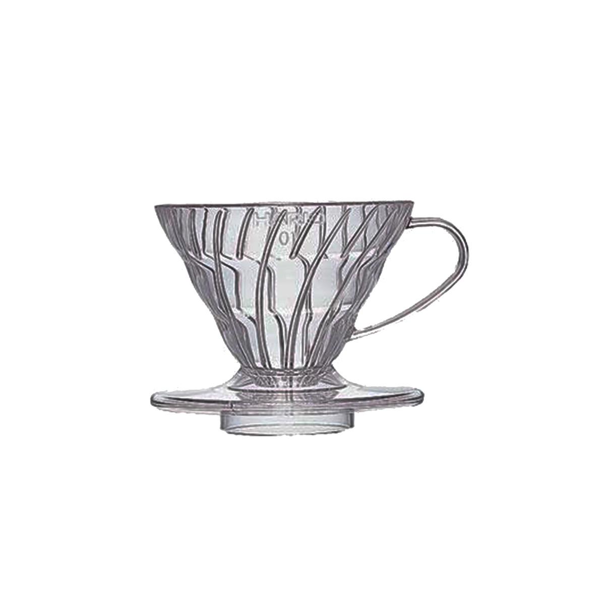 Hario V60 Plastic Coffee Dripper Clear 01 VD-01T