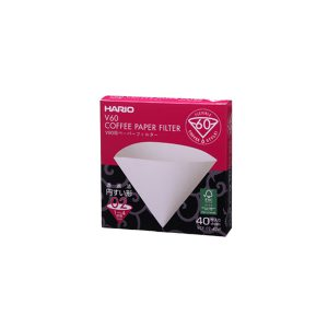 Hario V60 Filter Paper 02 40 Pack VCF-02-40W
