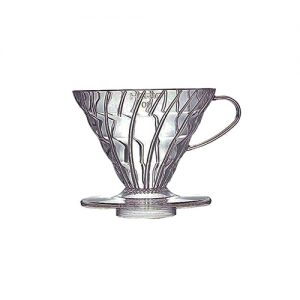 Hario V60 Plastic Coffee Dripper 02 Clear VD-02T