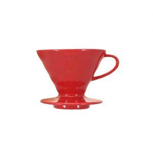 Hario V60 Ceramic Coffee Dripper Red 02 VDC-02R