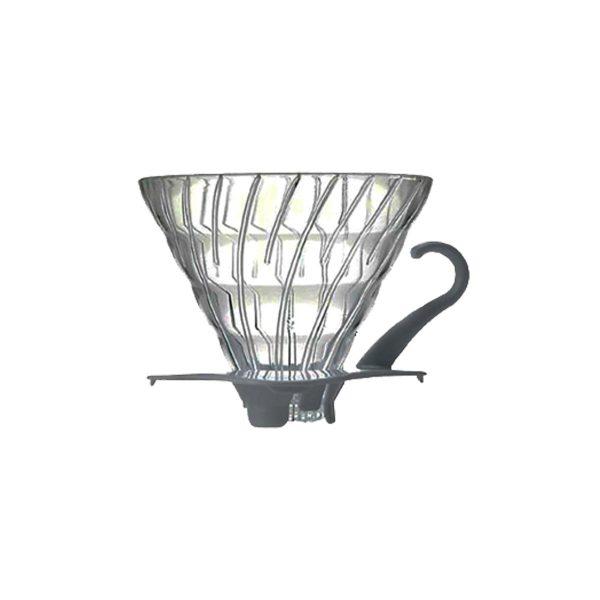 Hario V60 Glass Coffee Dripper White 02 VDG-02W