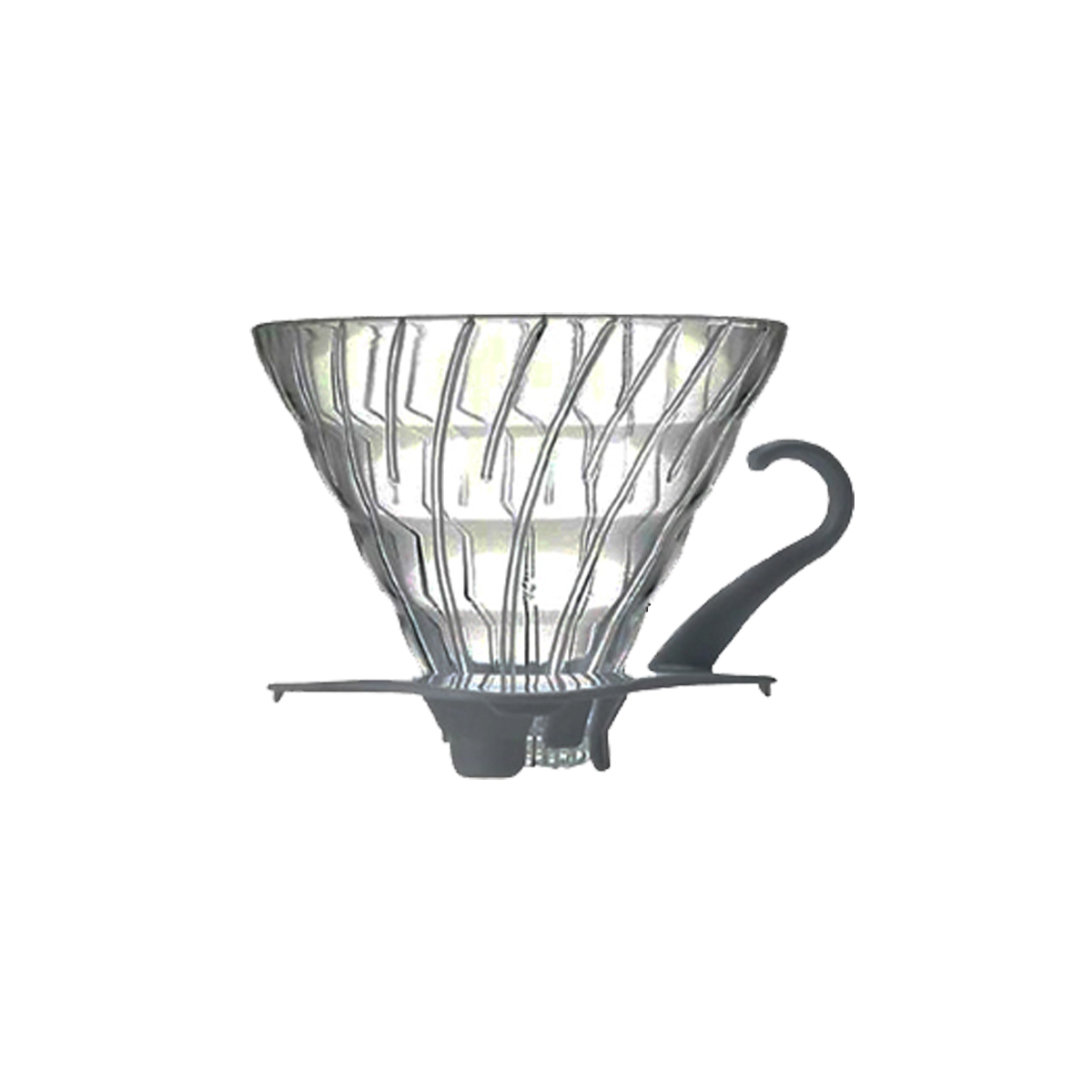 Hario V60 Glass Coffee Dripper White 02 VDG-02W