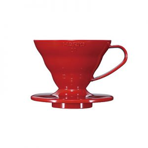Hario V60 Plastic Coffee Dripper Red 01 VD-01R