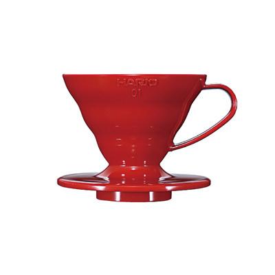 Hario V60 Plastic Coffee Dripper Red 01 VD-01R