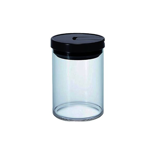Hario Glass Canister Black MCN-200B