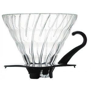Hario V60 Glass Coffee Dripper Black 02 VDG-02B