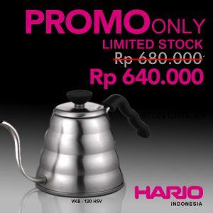 Hario V60 Pouring Kettle Buono Large VKB-120HSV