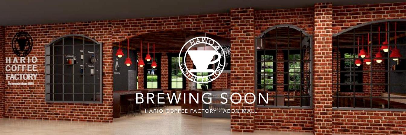 Akan Hadir Hario Coffee Factory Di AEON Mall