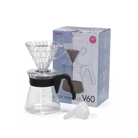 Hario V60 Pour Over Kit VCSD-02B EX