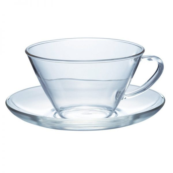 Hario Cup And Saucer Wide CSW-1T