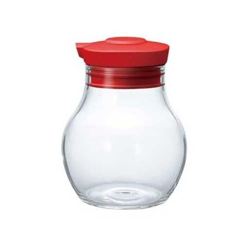 Hario Sealed Soy Sauce Bottle 120 Red OMPS-120-R