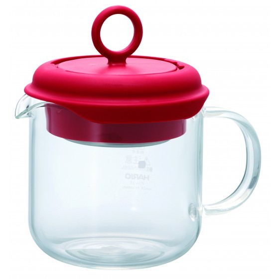 Hario Tea Maker Pull Up Red 350ml PTM-35-R