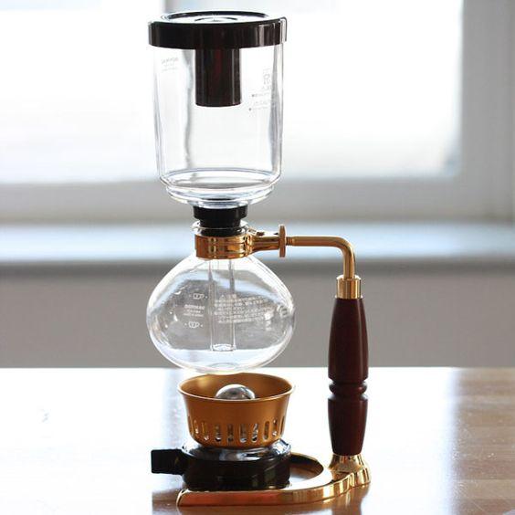 Hario Coffee Syphon Technica 3 Cups Bronze TCA-3BZ-EX