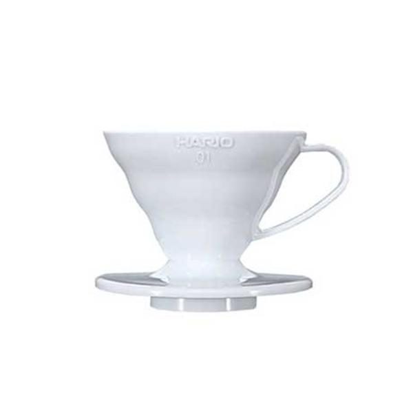 Hario V60 Plastic Coffee Dripper 01 White VD-01W