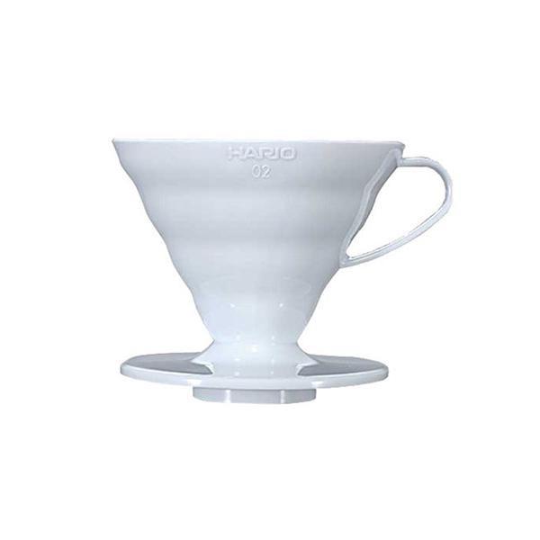 Hario V60 Plastic Coffee Dripper 02 White VD-02W