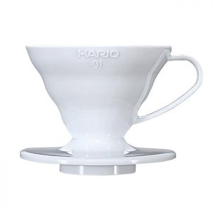 Hario V60 Dripper Ceramic 01 White VDC-01W