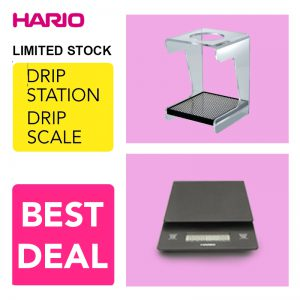Paket Hario Drip Stand VSS-1t Dan Hario Drip Scale VST-2000B