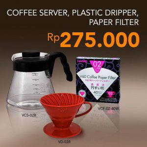 Paket Hemat Hario Manual Brewing