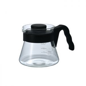 Hario V60 Glass Coffee Server 01 450ml VCS-01B