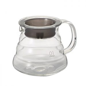 Hario V60 Glass Range Server Clear 360ml XGS-36TB