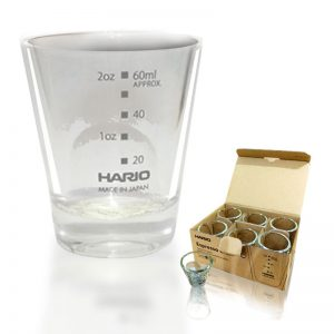 Hario Shot Glass 80ml SGS-80B-EX 6PCS
