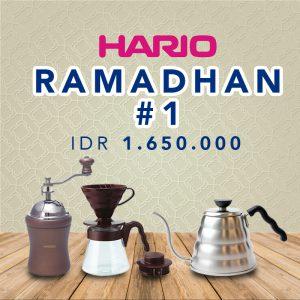 Paket Promo Manual Brewing Bulan Ramadhan 1 (VCSD-02-CBR, VKB-70HSV, MCD-2)