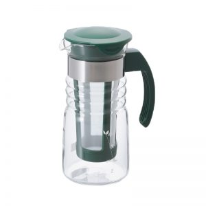 Hario Water Brew Teapot Dark Green Mini HCC-7DG