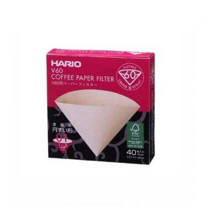 Hario V60 Paper Filter 01 M 40 Sheets VCF-01-40M