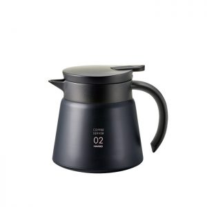 Hario V60 Insulated Stainless Steel Server 600 Black VHS-60B