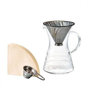 Hario V60 Metal Drip Pour Over Decanter VPD-02HSV