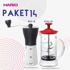 Hario V60 Promo Coffee Press + Mini Mill