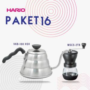 Hario V60 Promo Skerton Grinder + Kettle Buono 100HSV