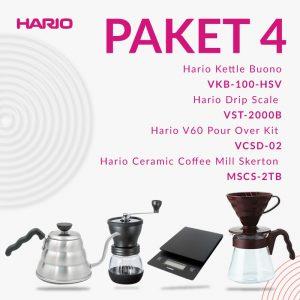 Hario Promo V60 VKB 100 HSV+MSCS 2 TB+VST 2000 B+VCSD 02 CBR