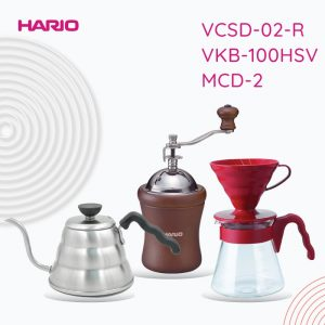 Paket Promo Manual Brewing VCSD-02-R, VKB-70HSV, MCD-2